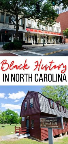 Black history in North Carolina is better understood at the locations where important events transpired. From Underground Railroad sites to Civil Rights landmarks and hubs of African-American business, this NC travel guide will inspire you to learn about Black History in North Carolina #NC #blackhistory #northcarolina #history Cities In North Carolina, South Carolina, Underground Railroad, Us Destinations, United States Travel, Culture Travel, Civil Rights, Usa Travel, Historical Sites