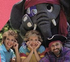 Sharon, Lois, Bram 1986 the elephant show...one of my favorite shows when I was little!