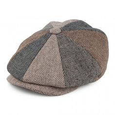 Buy the Jaxon & James Herringbone Patch Newsboy Cap - Multi-Coloured at Village Hats. The destination for hats and caps online. Bailey Hats, Chevrons, News Boy Hat, Hats Online, Flat Cap, Donegal, Club Style, Brixton, Fedora Hat