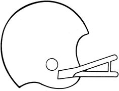 How to Draw a Football Helmet Step by Step Drawing