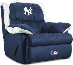 New York Yankees Players | New York Yankees Home Team Recliner by Home Team Distributors - MLB