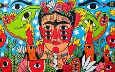 El arte en su máximo color: Ricardo Cavolo roba miradas en el CutOut Fest – Publimetro