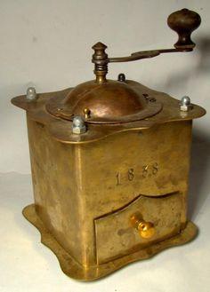 vintage coffee grinder knowyourgrinder.com #coffeegrinder #grinder #coffeeswag…