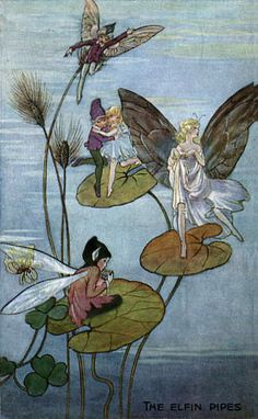 Fairies - no artist's name included.