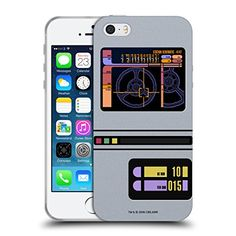 Official Star Trek Padd Gadgets TNG Soft Gel Case for Apple iPhone 5  5s  SE -- Visit the image link more details. (Note:Amazon affiliate link)