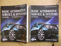 Today's Technician: Basic Automotive Service & Systems Classroom + Shop Manual