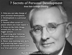 Personal development is essential for a positive mindset, self-knowledge. Learn the 7 secrets of personal development from Dale Carnegie Training Leadership Activities, Leadership Development, Leadership Quotes, Self Development, Personal Development, Achievement Quotes, Communication Skills, Personality Development Quotes, Communication Quotes