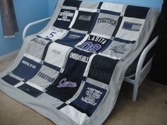 T-Shirt Quilt - How to Make Your Own