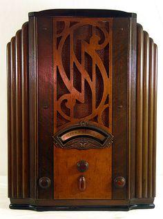 Art Deco radio. Please like http://www.facebook.com/RagDollMagazine and follow @RagDollMagBlog @priscillacita