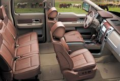 2013 Ford F 250 King Ranch Interior