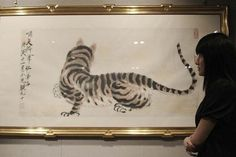 Chinese Collectors Keep Pushing Top-Tier Art Prices Through The Roof Chinese Painting, Chinese Art, Chinese Auction, Emperor Augustus, Expensive Art, Through The Roof, Famous Words, Old Art, Ink Painting