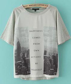 wearing words.