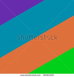 Four colored stripes at an angle of 30 degrees. Vector background.