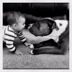 My adorable nephew bryce and his best friend Gus!