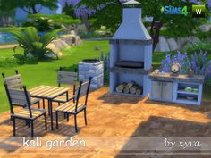 Sims 4 CC's - The Best: Kali Garden by Xyra