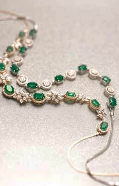 Necklaces – Page 5 – Modern Jewelry Real Diamond Necklace, Emerald Necklace, Emerald Jewelry, Diamond Jewelry, Emerald Diamond, Diamond Bracelets, Stone Jewelry, Bangles, Real Gold Jewelry