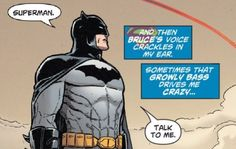 I need to know if this is actual text from the comics or if it's fan made. #SuperBat #Batman #BruceWayne