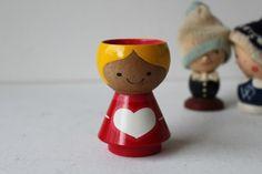 Helen and Mogens Lyholmer Egg Cup Holder Danish by foxbride