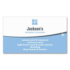 273 Best Cleaning Business Cards Images Cleaning Business Cards