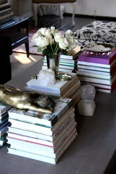 Meg Galligan Home Tour Coffee Table Styling Photography By Andi Hatch