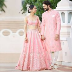 #BridalShopping: Where To Buy Gota Patti Lehenga From? Indian Bridal Outfits, Indian Party Wear, Indian Dresses, Couple Wedding Dress, Wedding Wear, Casual Wedding, Wedding Updo, Wedding Ceremony, Wedding Dresses