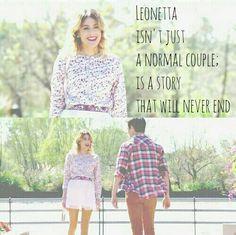 leonetta and violetta kép