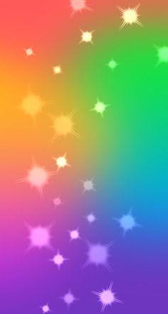 Colorful Bokeh Sparkles iPhone Wallpaper
