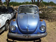 Need a project car? For sale is a 1978 Volkswagen beetle, karmann edition. Car is in decent shape for it's age, for the exception of the right rear dent on fender. Bettle needs a little bit of body work on rear as shown on pictures. Starting bid $1,000 USD... on eBay