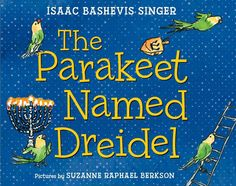 When young David and Mama and Papa are celebrating Hanukkah one frosty winter evening in Brooklyn, Papa sees a parakeet sitting on the window ledge. He lets the parakeet in and everyone is delighted to find that it speaks Yiddish. They name it Dreidel ...
