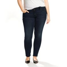 Levis totally shaping skinny jeans
