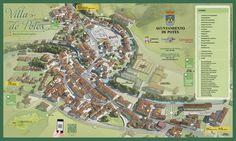 Nuevo mapa turístico de la conocida localidad cántabra Potes. Contiene la información necesaria para realizar una agradable visita a la villa.