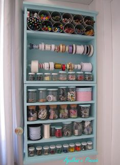 Nook for craft. Craft Room Decor, Craft Room Storage, Diy Home Decor, Coin Couture, Diy Recycling, Diy Rangement, Craft Station, Sewing Room Organization, Diy Inspiration