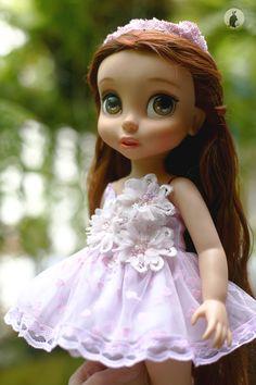 Ropa de la muñeca para la muñeca del animador de Disney 16. Muñeca, diadema y accesorios no incluidos. :)