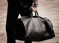 Louis Vuitton Damier Infini Keepall 55 Bandouliere