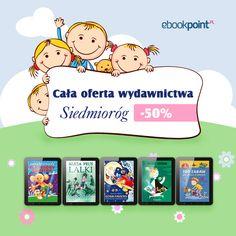 Świetna oferta #promocja #ebook #upolujebooka na wydawnictwo Siedmioróg   http://upolujebooka.pl/wydawnictwo,680,siedmiorog.html