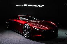 【東京モーターショー2015】ロータリースポーツコンセプト「Mazda RX-VISION」の各部写真