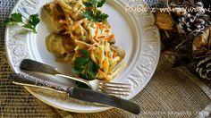 Kulinarne przygody Gatity: Ryba po kaszubsku w warzywami i białym winem