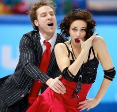 Nathalie Pechalat and Fabian Bourzat of France