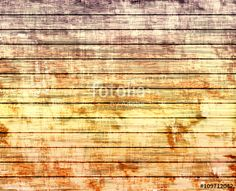 Grunge background shabby tree, orange-violet
