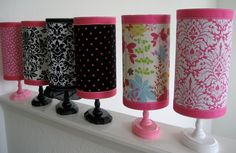 Custom Headband Holder Stand wITH EXTRA RIBBON for Julie Copperstein. $22.00, via Etsy.
