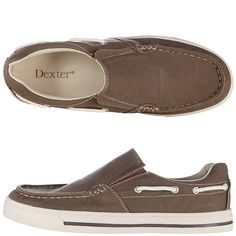 Very casual and affordable boat shoes for the groomsmen.