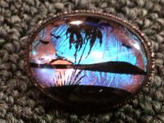 Vintage Antique Engraved Butterfly Wing Sterling Silver Brooch Pin on Etsy, $45.00
