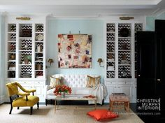 Christina Murphy knows color! Get her celebrity design style on #Decorist.