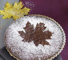 Der Kuchen zieht sich herbstlich an - Herbst-Deko mit Zutaten aus der Küche 4