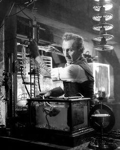 hammerhorrorfilms:  Peter Cushing - Evil Of Frankenstein (1964)