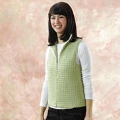 Check out Valley Yarns 144 Sweet Pea Crocheted Vest at WEBS | Yarn.com.