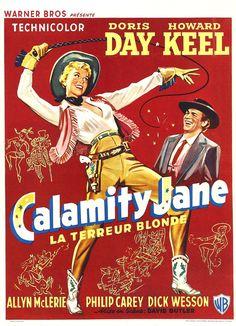 Ardida como Pimenta (Calamity Jane), 1953.