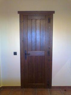 Puertas rusticas de interior Main Door, Interior Exterior, Tall Cabinet Storage, Color Nogal, High Ceilings, Doors, Furniture, Home Decor, Rustic Doors