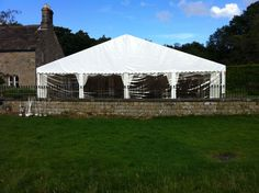 Gable end - #marqueehireuk #marqueehire #Notts #Derby #Leicester #weddings #corporate #events