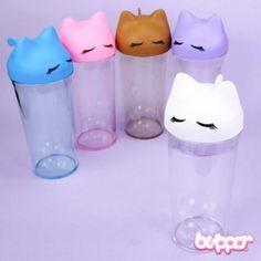 Sleeping Neko Bottle - Big - Cups & Mugs - Home & Deco - Other Products | Blippo.com - Japan & Kawaii Shop